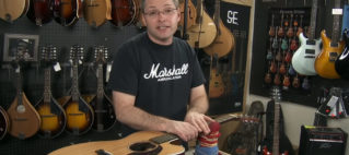Ahow To Change Guitar Strings Art Eichele