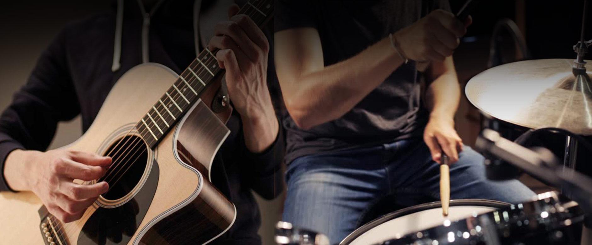 Guitar & Drum Lessons Hansen Music