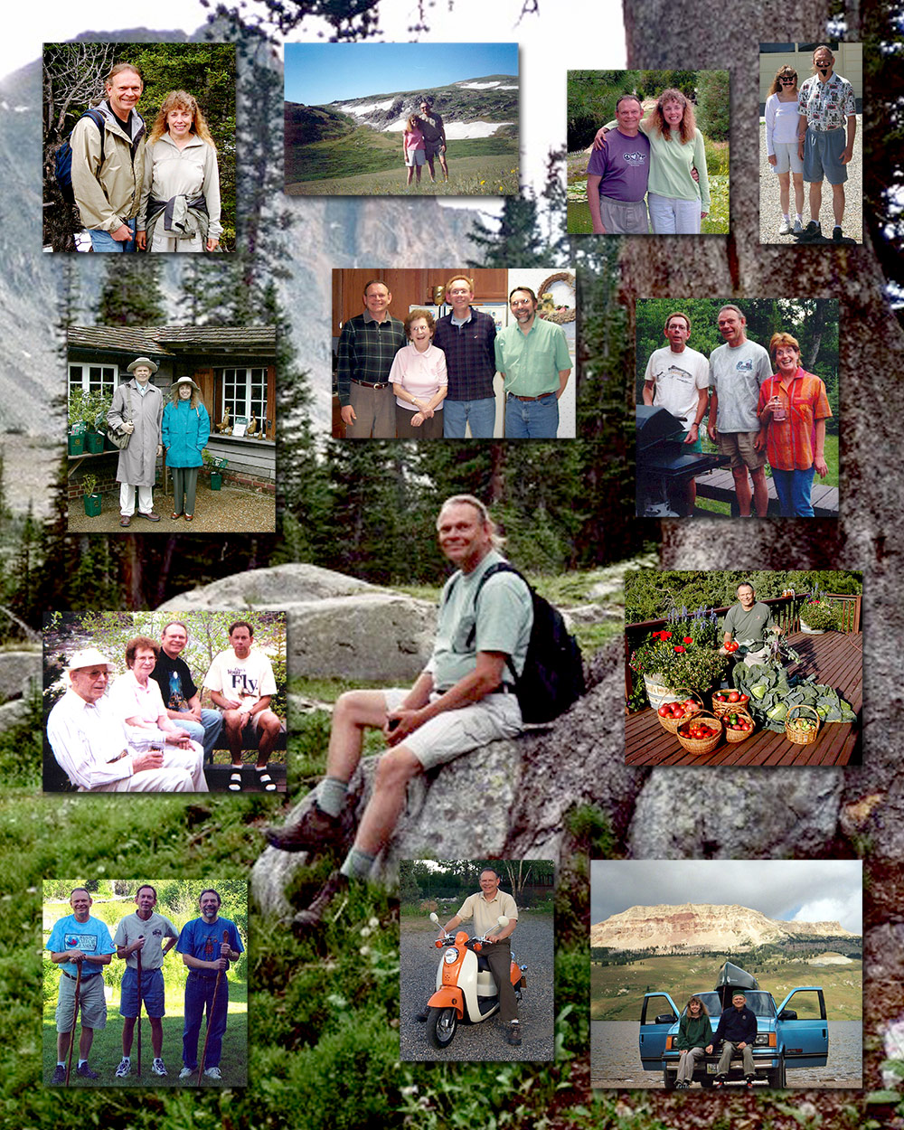 Pat Hansen Memorial Collage