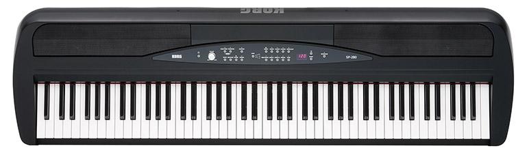 Keyboard Korg SP 280 BK Hansen Music