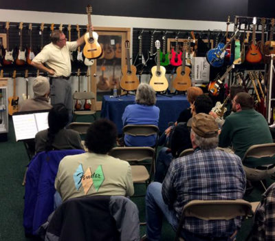 Guitar Clinics at Hansen Music