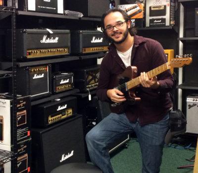 Marshall Amp Section