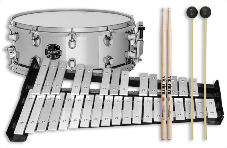 Snare and bell Kit Rental