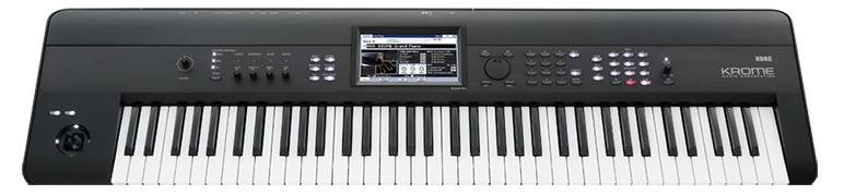 keyboard Korg Krome Hansen Music