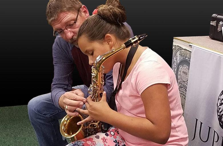 Daughter In School Orchestra Todd Naas Hansen Music