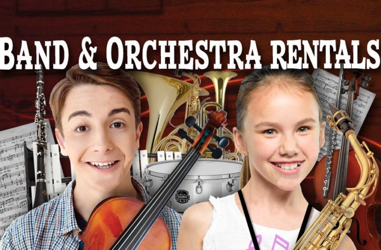 School Band rentals School Orchestra Rentals