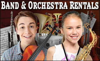 School Band and Orchestra Rentals