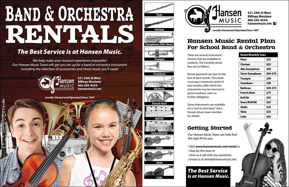 School Band Rentals Hansen Music