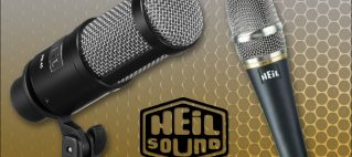 Now Available: Heil Microphones & Accessories