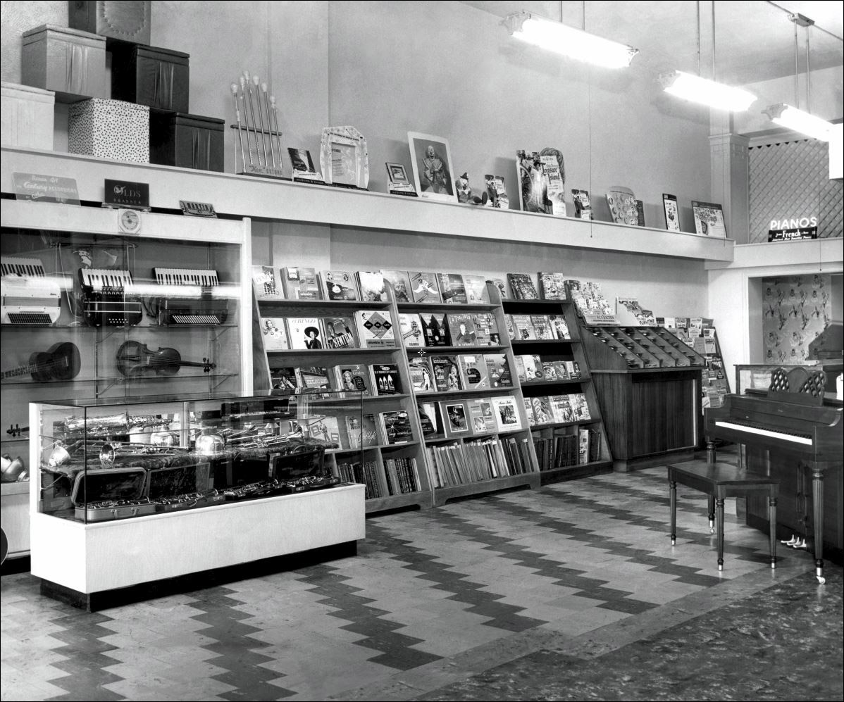 Hansen Music Store History Downtown Billings