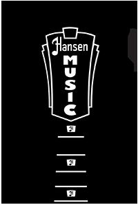 Logo Hansen Music Headstock Play It Live