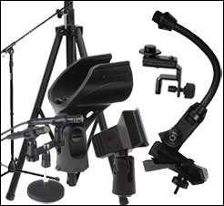 PA Hardware Mic Clips Microphones